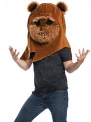 Maschera mascotte gigante Ewok™ Star Wars™ adulto