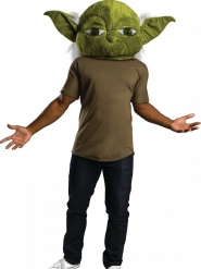 Maschera mascotte Yoda™ adulto