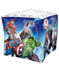 Palloncino alluminio cubo Avengers™ 38 cm
