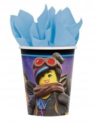 8 bicchieri in cartone Lego Movie 2™ Una nuova avventura