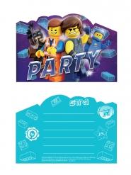 8 Inviti con buste Lego movie 2™
