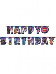 Ghirlanda in cartone Happy Birthday Lego movie 2™ 163 cm