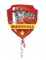 Palloncino alluminio Chase e Marshall Paw Patrol™ 63x68 cm