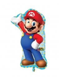 Palloncino in alluminio Super Mario™ 55 x 83 cm