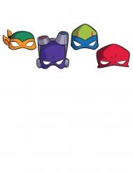 8 Maschere in cartone Le Tartarughe Ninja™