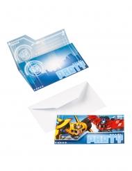8 Inviti di compleanno Transformers™