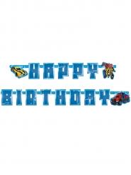 Ghirlanda in cartone Happy Birthday Transformer™ 180 cm