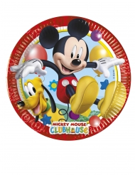 8 Piattini in cartone Mickey Mouse™