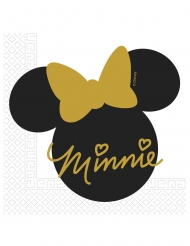 20 Tovaglioli in carta Minnie Gold™²