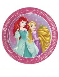 8 Piattini con Principesse Disney™