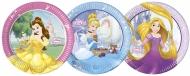 8 Piatti in cartone Principesse Disney™ 23 cm