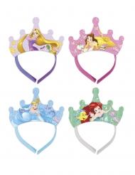 4 Tiare in cartone Principesse Disney™
