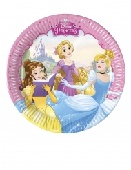 8 Piattini in cartone Principesse Disney™