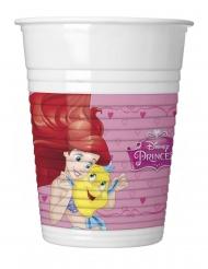8 Bicchieri in plastica Principesse Disney™
