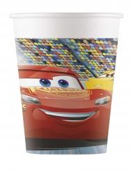 8 Bicchieri in cartone Cars 3™ 200 ml
