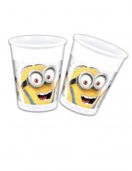 8 Bicchieri in plastica Minions™