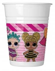8 Bicchieri in plastica Lol™ 200 ml