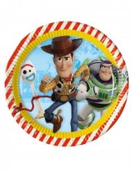 8 Piatti in cartone Toy Story 4™ 23 cm
