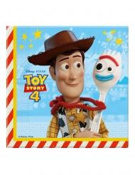 20 Tovaglioli in carta Toy Story 4 33x33 cm