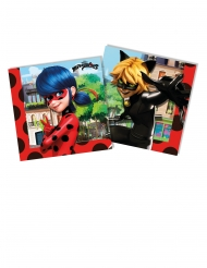 20 tovaglioli di carta Ladybug™ 33 cm