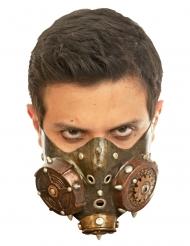 Mezza maschera steampunk adulto