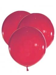 5 Palloncini grandi in lattice rosso 47 cm