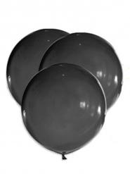 5 Palloncini grandi in lattice nero 47 cm