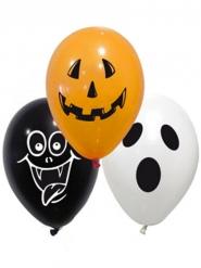 10 palloncini in lattice spooky Halloween