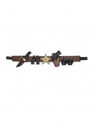 Cintura armi sceriffo 90 cm