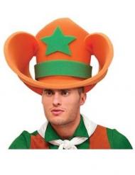 Cappello gigante da Cowboy in spugna per adulto