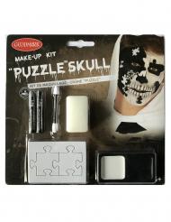 Kit trucco scheletro puzzle adulto