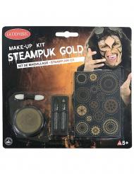 Kit trucco steampunk dorato