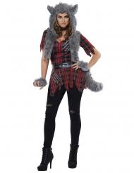 Costume lupo mannaro donna