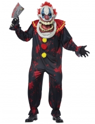 Costume clown gigante adulto