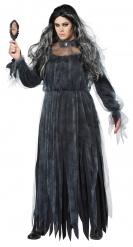 Costume nero dama gotica donna taglie grandi