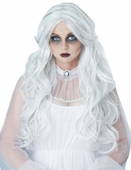 Parrucca lunga dama bianca donna