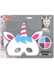 Maschera e trucco unicorno per bambino