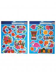 2 Fogli di stickers Aloha Hawai