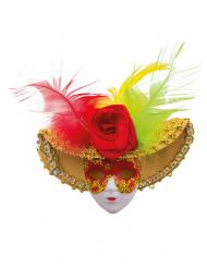 Spilla con maschera veneziana
