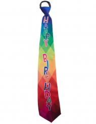 Cravatta Happy Birthday per adulto