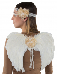 Ali da angelo e fascia per adulto