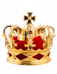 Pinza da capelli mini corona reale dorata