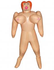 Bambola gonfiabile seno gigante 150 cm