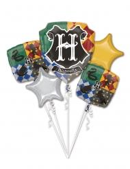 5 Palloncini in alluminio Harry Potter™