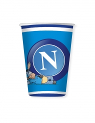 8 bicchieri di cartone Napoli™