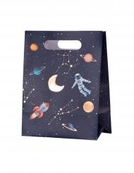 4 buste regalo in cartone universo 20 x 15 x 9 cm