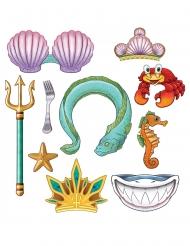 10 photobooth principessa sirena