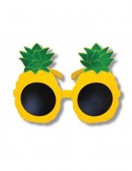 Occhiali ananas giallo per adulto