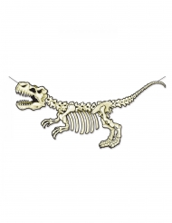 Banner in cartone scheletro dinosauro 71 x 152 cm