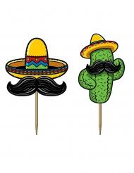 50 stuzzicadenti festa messicana 7 cm